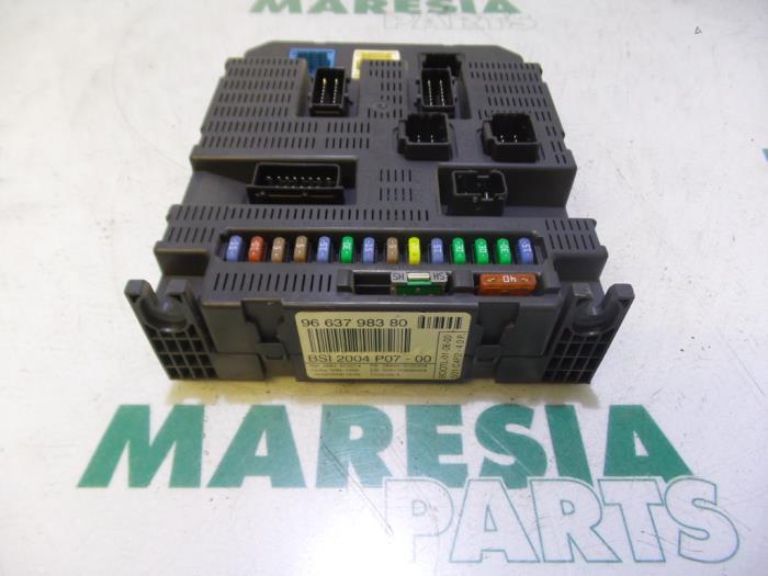Fiat Technical Fuse Box
