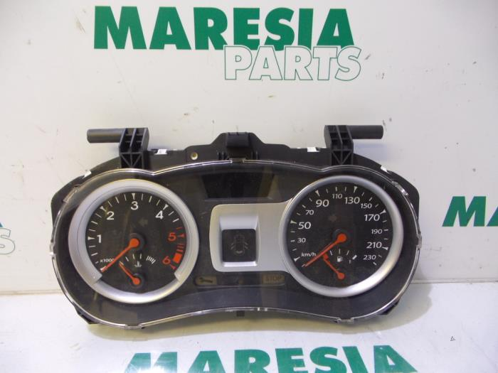used renault clio iii br cr 1 5 dci fap instrument panel 8201060299 maresia parts. Black Bedroom Furniture Sets. Home Design Ideas
