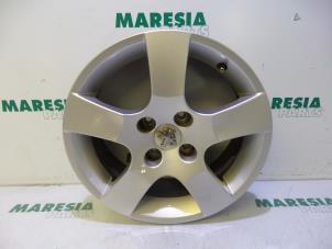 Used Peugeot 207 Wheel 5402ak Alloy Maresia Parts