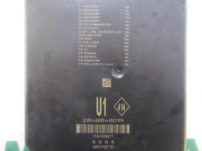 Used Renault Espace Fuse box - 284B64601R - Maresia Parts