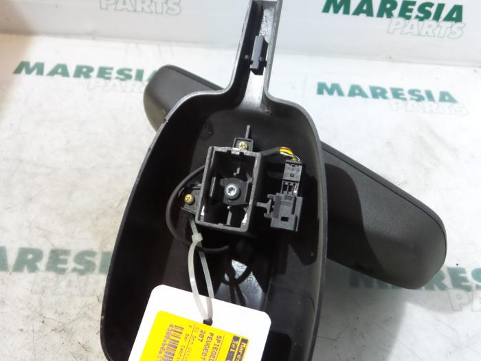 used peugeot 207 cc wb 1 6 16v thp rear view mirror maresia parts. Black Bedroom Furniture Sets. Home Design Ideas