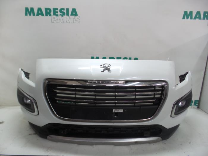 used peugeot 3008 front bumper color code kwe 1611182480 maresia parts. Black Bedroom Furniture Sets. Home Design Ideas