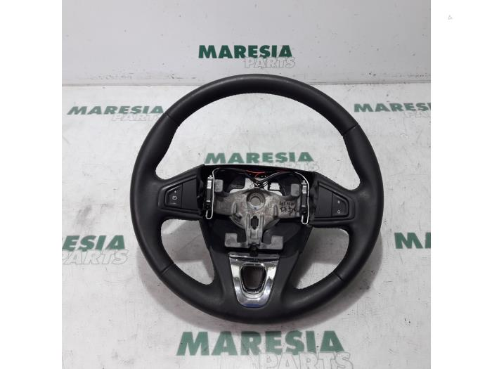 Steering Wheel From A Renault Scénic Iii Jz 1 2 16v Tce 115 Energy 2017