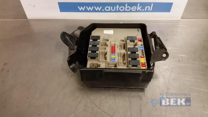 Used renault clio iii br cr dci fuse box