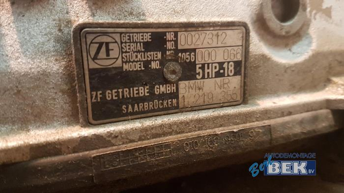 Gearbox With Code 5HP18 Used