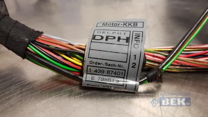 wiring harness from a bmw 3 serie (e46/2) 318 ci 2001