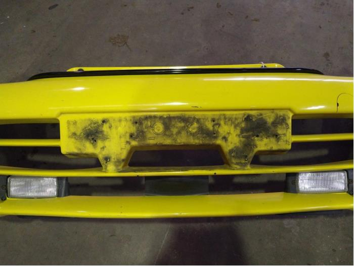 Front bumper from a Fiat Seicento (187) 1.1 SPI Sporting 2001