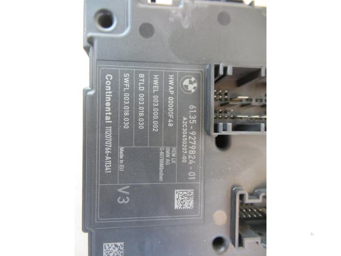 fuse box from a bmw 1 serie (f20) 116d 2 0 16v 2012