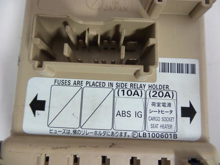 used subaru impreza ii gd 2 0 turbo 16v wrx fuse box lb100601b rh proxyparts com