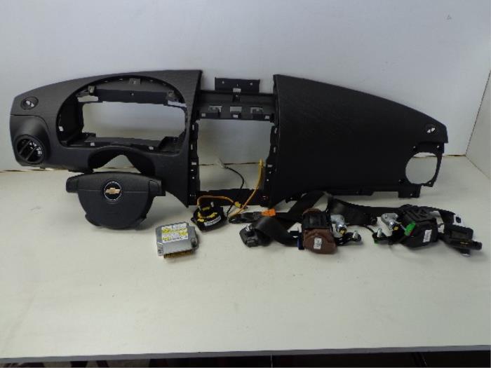Used Chevrolet Aveo 250 12 16v Airbag Setmodule 96806963