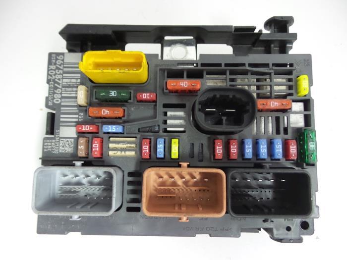 Used Citroen C4 Grand Picasso  Ua  2 0 Hdif 16v 150 Fuse