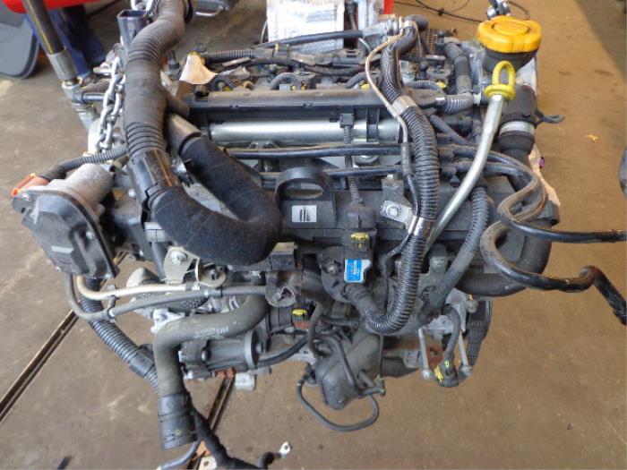 Engine From A Opel Corsa D 1 3 Cdti 16v Ecoflex 2010