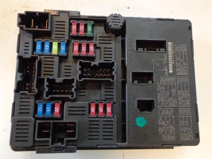 0 used nissan micra (k13) 1 2 12v fuse box 284b71hroc nissan micra fuse box layout at mifinder.co