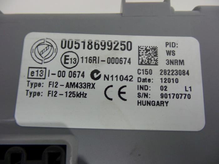 Used Fiat Punto Evo 199 14 Fuse box 00518699250 Autobedrijf – Evo Fuse Box