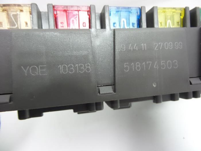 fuse box from a rover 75 (used)