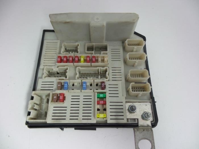 Renault megane fuse box layout wiring diagram