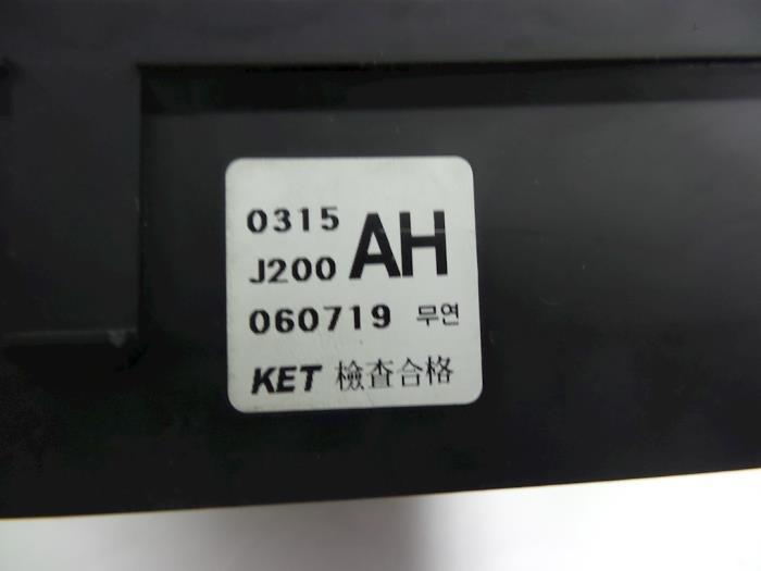 fuse box from a daewoo / chevrolet nubira wagon (j100/150/200)