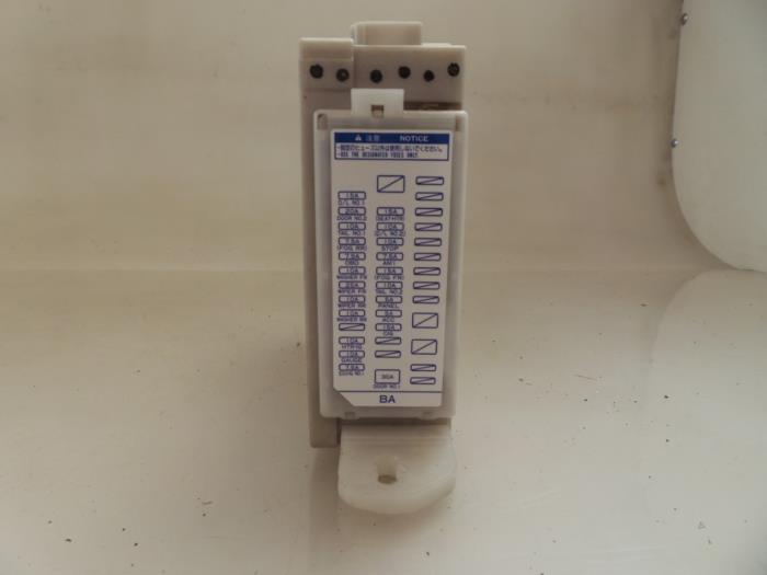 fuse box from a toyota iq 1 0 12v vvt-i 2009