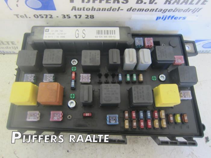 opel astra  gtc    turbo fuse box