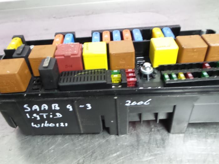 saab 9 3 fuse box 2006 used saab 9 3 ii sport sedan  ys3f  1 9 tid 16v fuse box  sport sedan  ys3f  1 9 tid 16v fuse box