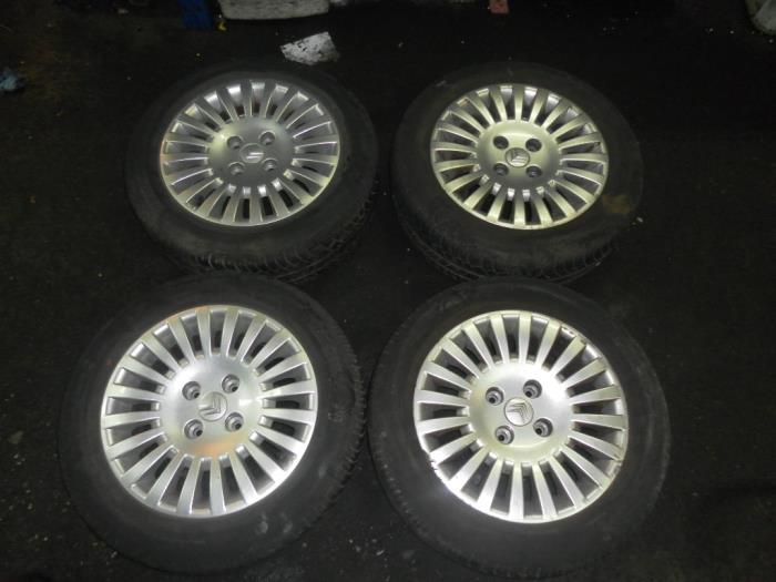 Used Citroen C3 Set Of Wheels Alloy Autobedrijf Gh
