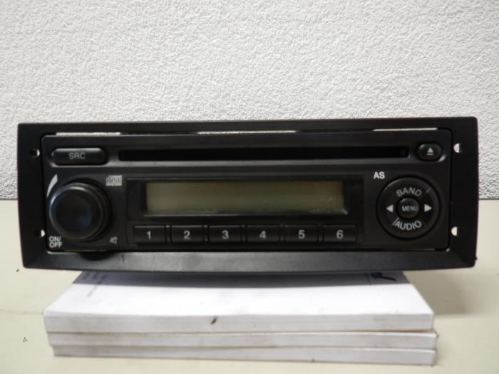 gebrauchte opel combo radio cd spieler 1189671 auto wessel. Black Bedroom Furniture Sets. Home Design Ideas