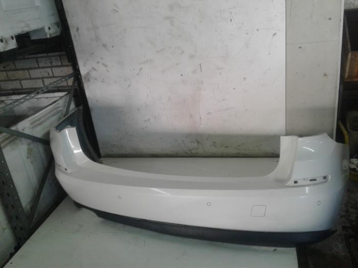 Used Bmw 5 Serie Rear Bumper Color Code Wit 51112163768 Auto