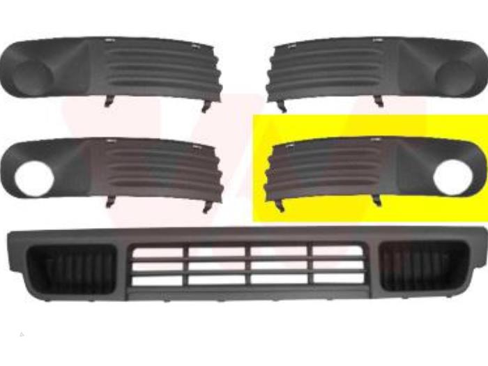 Bumper grille from a Volkswagen Transporter 2007