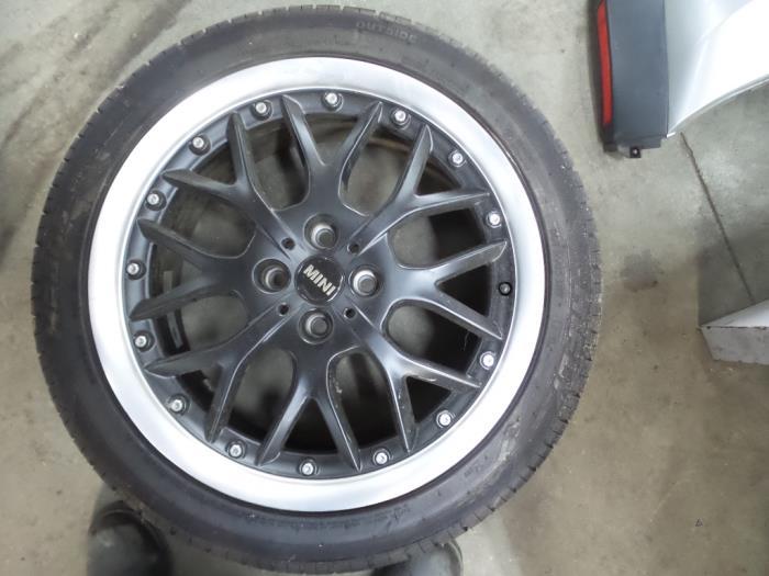 Used Mini Cooper S Wheel Tyre Ysm270 Alloy De Witte