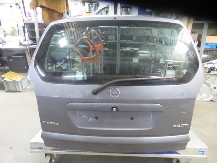 Used Opel Zafira F75 22 Dti 16v Tailgate Color Code Z155