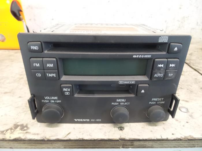 Used Volvo S40/V40 Radio CD player - P30623403 - De Witte