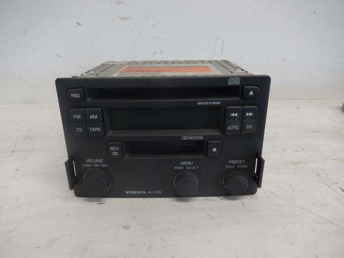 Used Volvo S40/V40 Radio CD player - P30623403 - De Witte