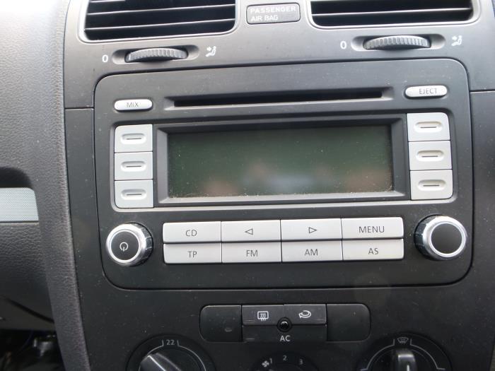 Used Volkswagen Jetta Radio Cd Player 1k0035186t Bzj Rhproxyparts: 2007 Jetta Radio Wont Turn On At Gmaili.net