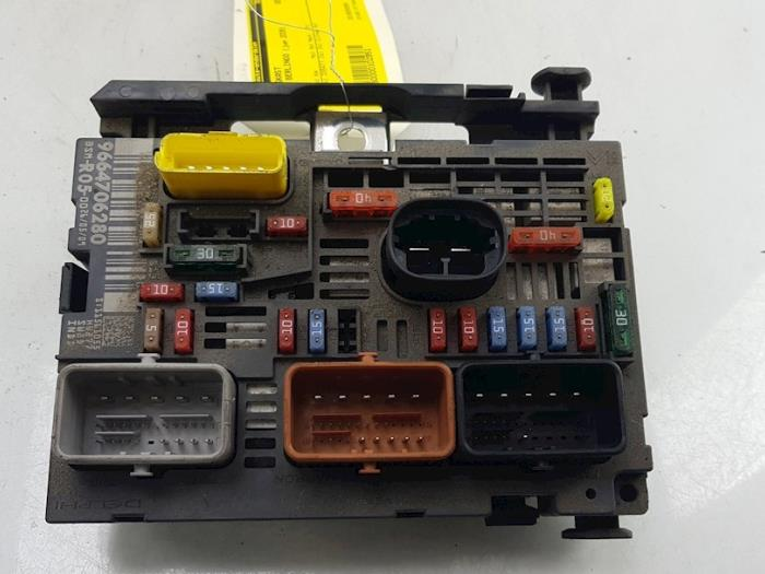 used citroen berlingo 1 6 hdi 75 16v phase 1 fuse box fuse electrical circuit phase 1 fuse box #10