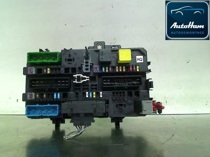 Used Opel Zafira (M75) 1.9 CDTI Fuse box - 13220831HQ ... Vauxhall Zafira Cdti Fuse Box on