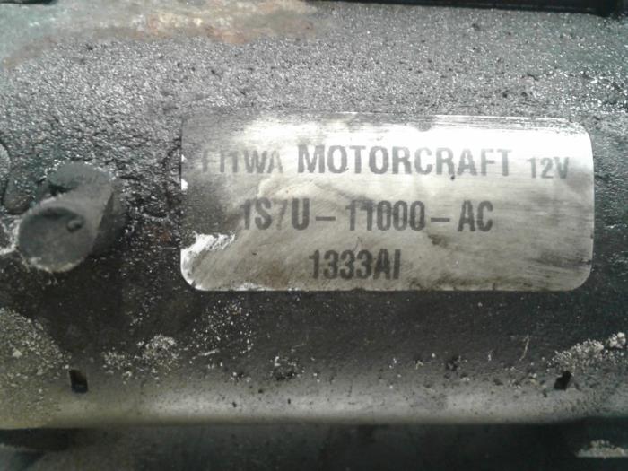 gebrauchte ford mondeo iii wagon 1 8 16v startmotor 1140111 autoham auto onderdelen. Black Bedroom Furniture Sets. Home Design Ideas