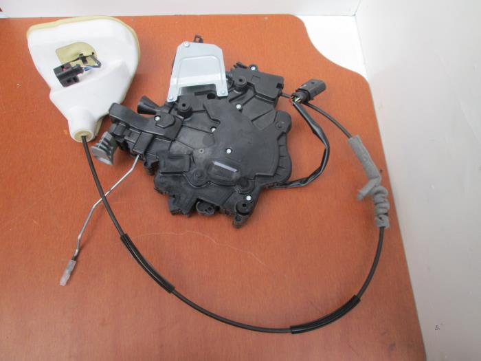 Sliding Door Lock Mechanism, Right From A Volkswagen Transporter 2015 ...