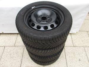 Used Volkswagen Caddy Set Of Wheels Winter Tyres