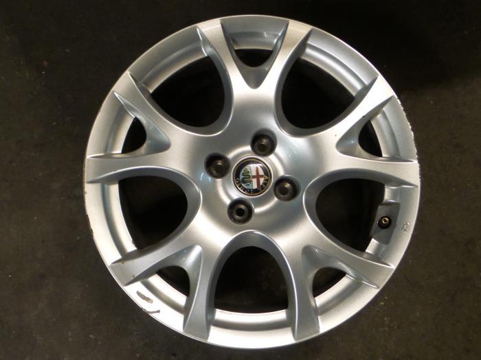 Used Alfa Romeo Mito 955 14 Wheel 156089365 Alloy