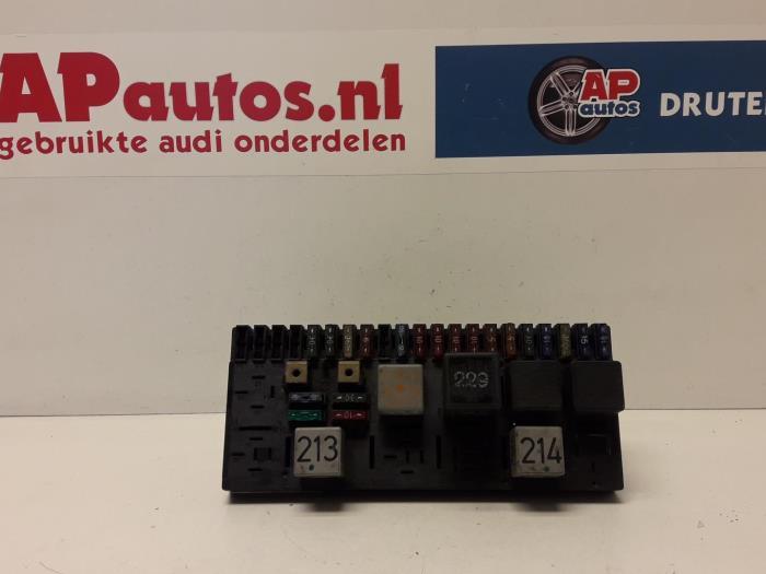 audi 80 fuse box used audi 80  89  1 8 fuse box 443941822a ap autos  used audi 80  89  1 8 fuse box