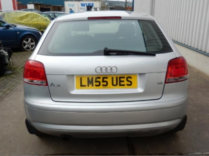 Used Audi A3 (8P1) 1 6 Tailgate color code LY7W