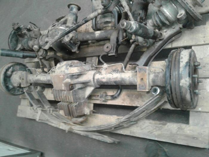 Hinterachse 4x4 van een Opel Frontera 1994