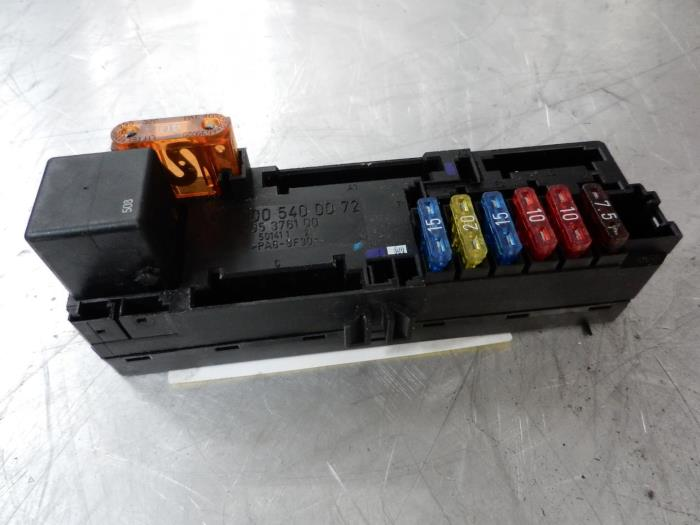 fuse box from a mercedes clk (w208) 2 0 200 16v 1998