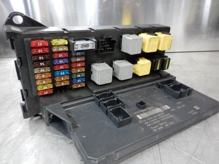 2011 Mercede Sprinter Fuse Box