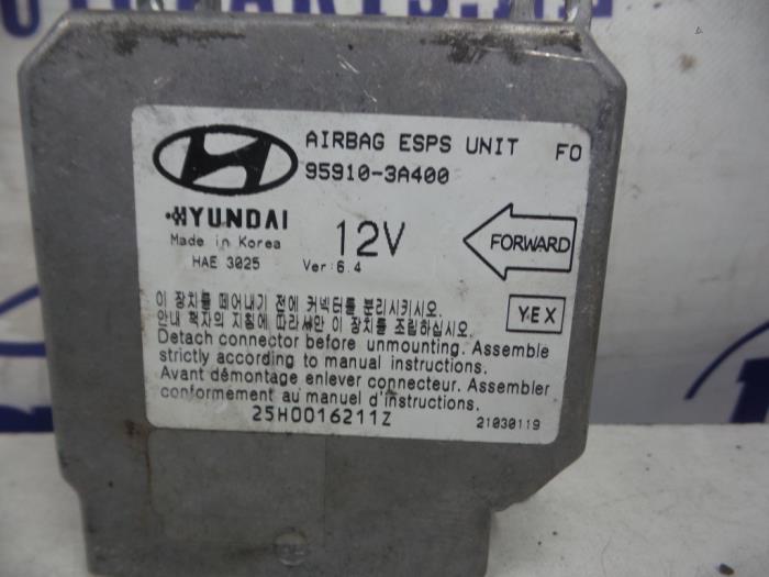 Manuel Auto Parts >> Used Hyundai Trajet Airbag Module 959103a400 Jacobs Auto