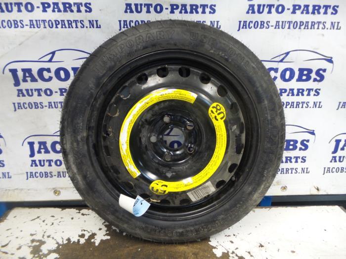 Used Audi A Spacesaver Spare Wheel EC Steel Jacobs - Used audi parts