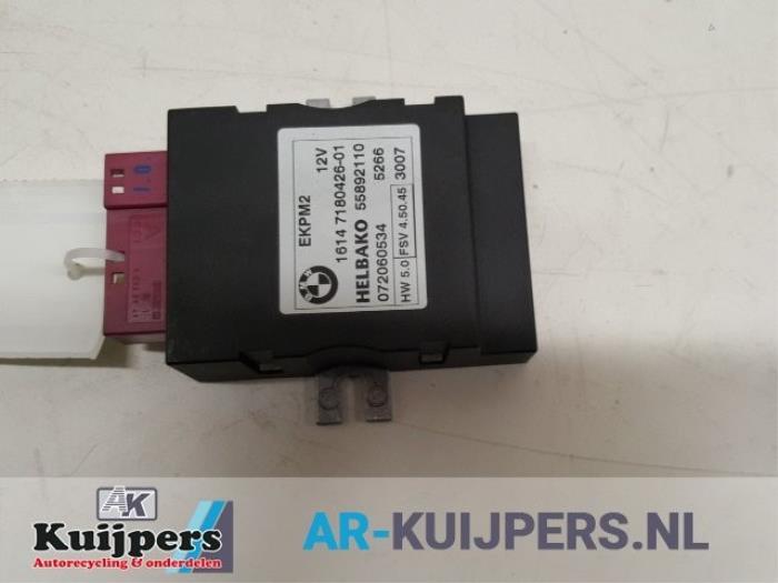 bmw e90 330d fuel pump relay location