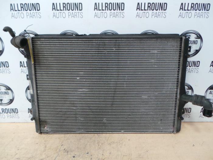 used audi a3 8p1 2 0 tdi 16v radiator 1k0121251eh. Black Bedroom Furniture Sets. Home Design Ideas