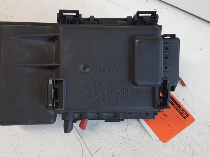 fuse box from a volkswagen polo 2000