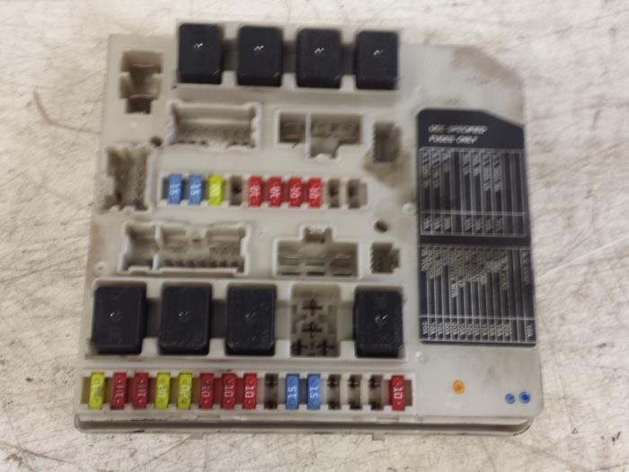 fuse box from a nissan note 2006